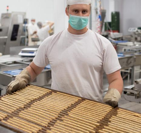Biržų duona darbuotojai grisini lazdelės