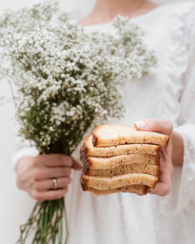 Naminė duona su viso grūdo miltais