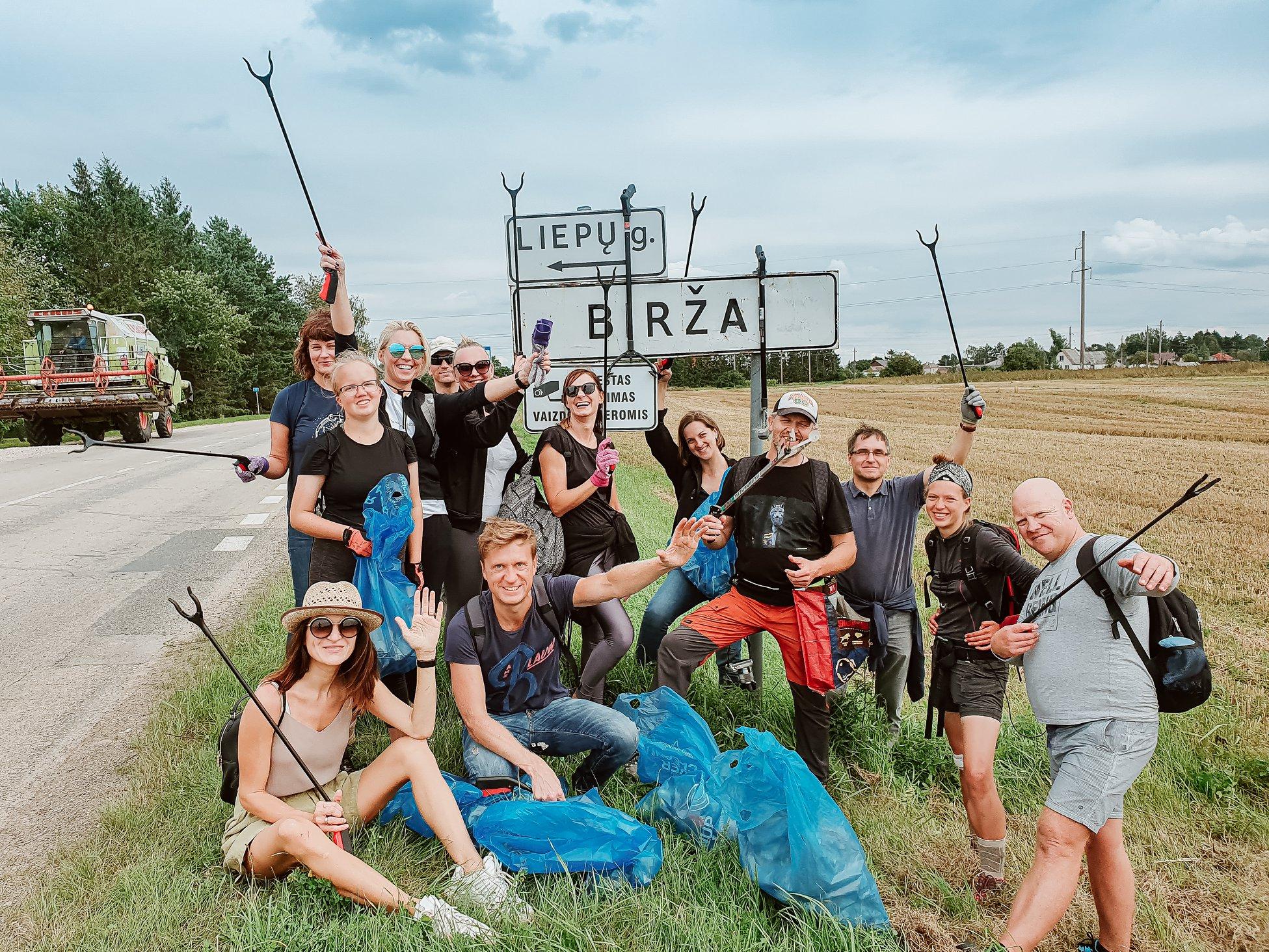Žygis už švarią Lietuvą