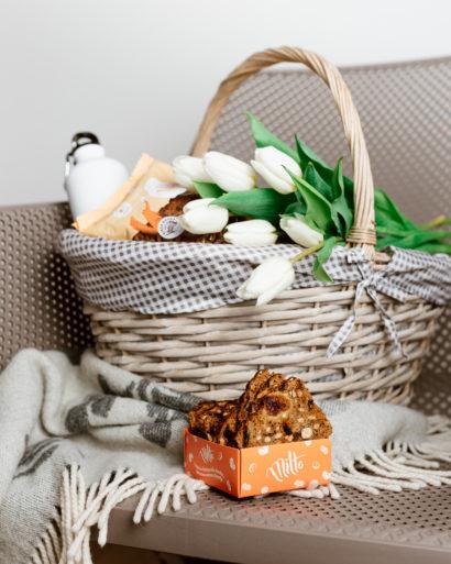 """""""Miltė"""" džiovintos duonos riekelės su vaisiais ir riešutais"""